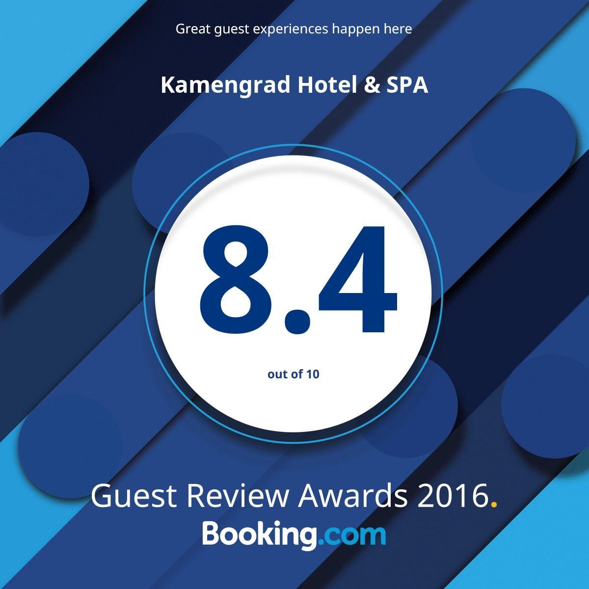 Kamengrad Hotel & SPA - 2016 Award Winner - Booking.com