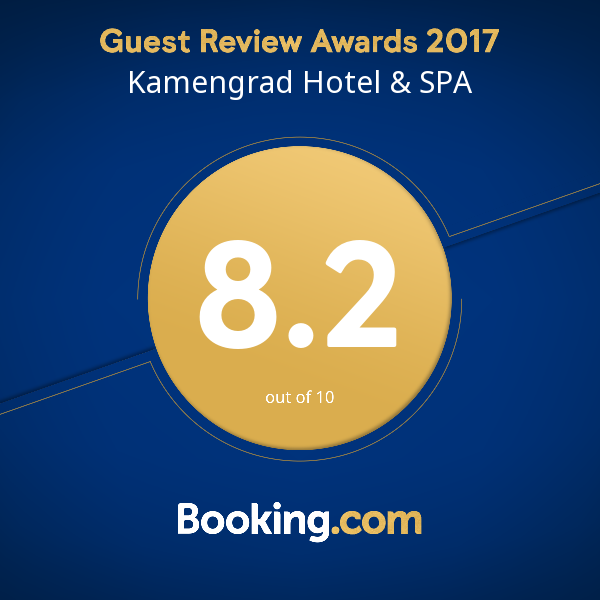 Kamengrad Hotel & SPA - 2017 Award Winner - Booking.com